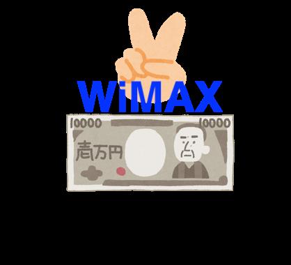WiMAX2回目のキャッシュバック