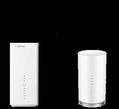 SoftBank Air VS WiMAX